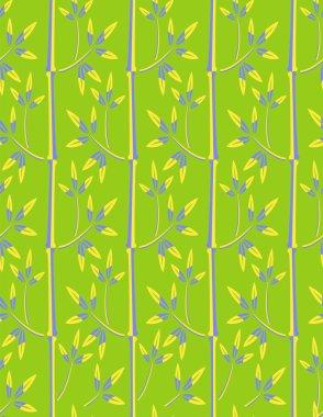 Illustration vector or seamless spring cute tiny vintage floral ,flower pattern background.