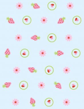 Illustration vector or seamless spring cute tiny vintage floral ,flower pattern background.