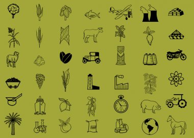 42 different silhouettes.