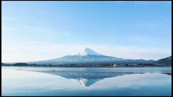 převrácený obraz mt. fuji