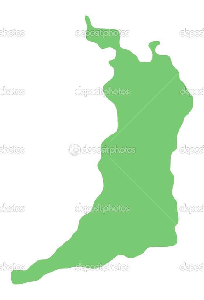 Map Of Osaka Prefecture Japan Stock Photo Kokoroyuki - Japan map osaka