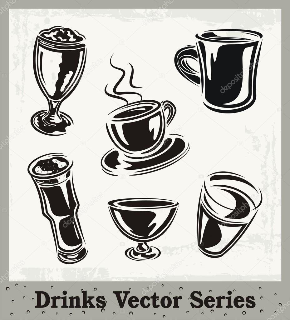 Getränke-Vektor-Serie — Stockvektor © clipart-design #21182157