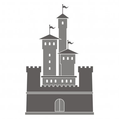Vector illustration of a historical building.