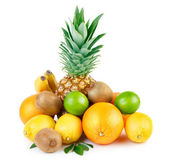 Fotografie Exotic fruits isolated