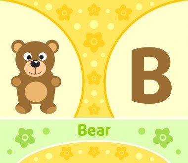 The English alphabet B