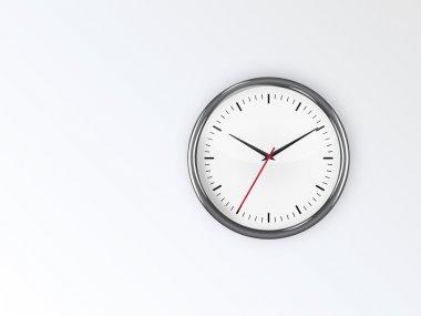 clock on wall vector wallpaper