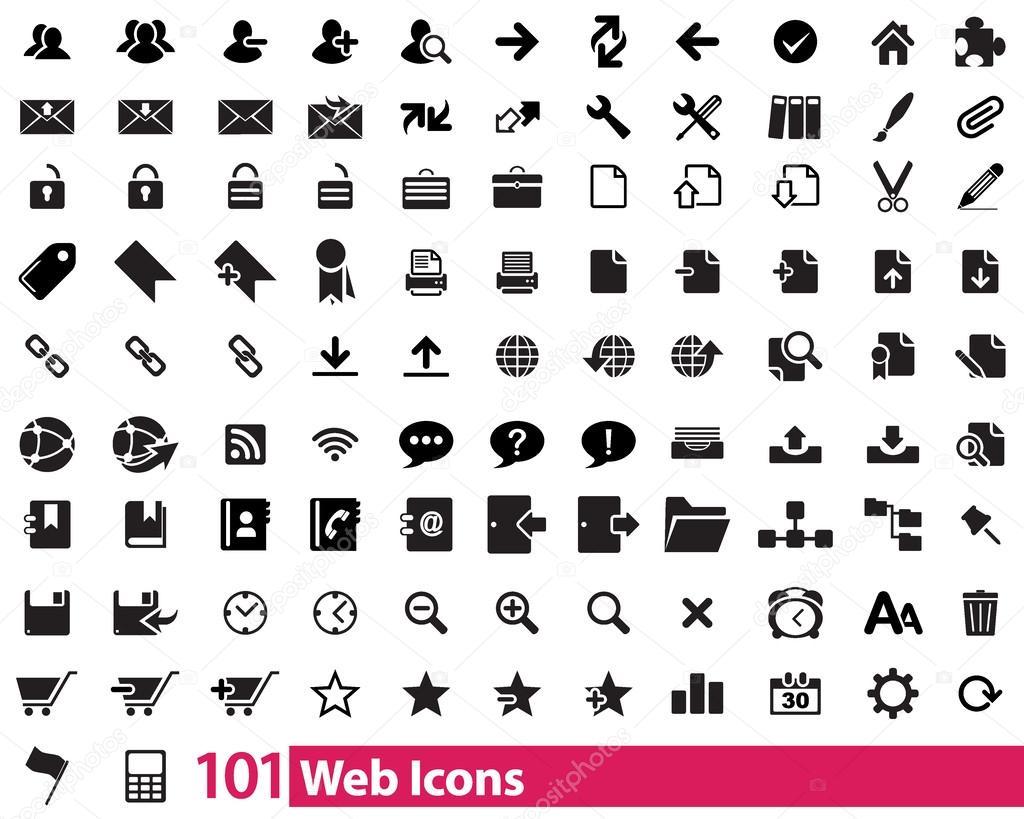 101 Web Icons