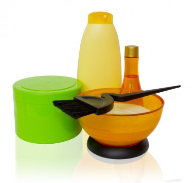Products and tools for coloring and hair care