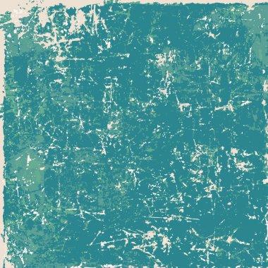 Green vintage grunge paper texture, background clip art vector