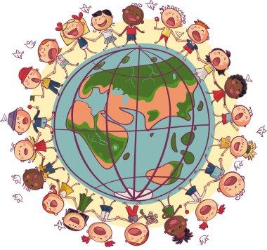 Kids around world