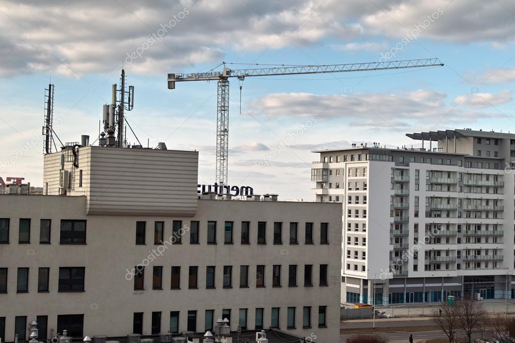 Cranes in Gdansk.