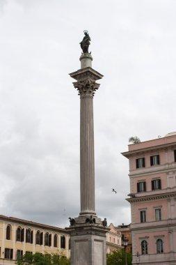 Visiting Rome.