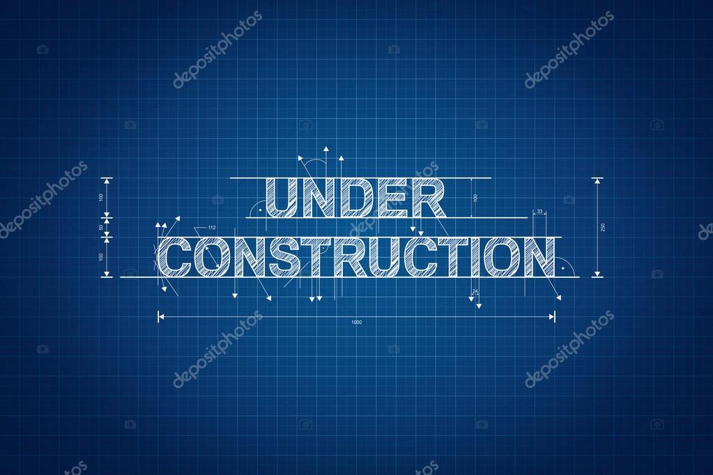 Under construction blueprint technical drawing scribble style under construction blueprint technical drawing scribble style photo by marinv malvernweather Gallery