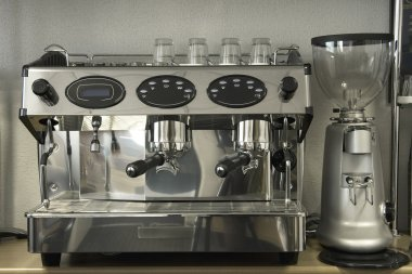 Professional espresso coffee maker machine