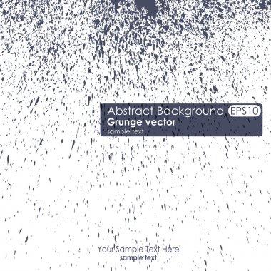 Grunge vector background. Ink splatter