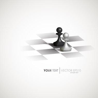 Design vector chess