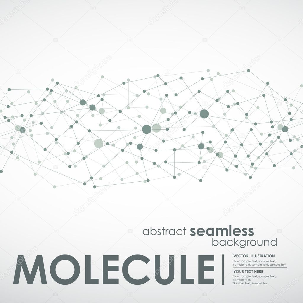 Seamless molecule and communication background