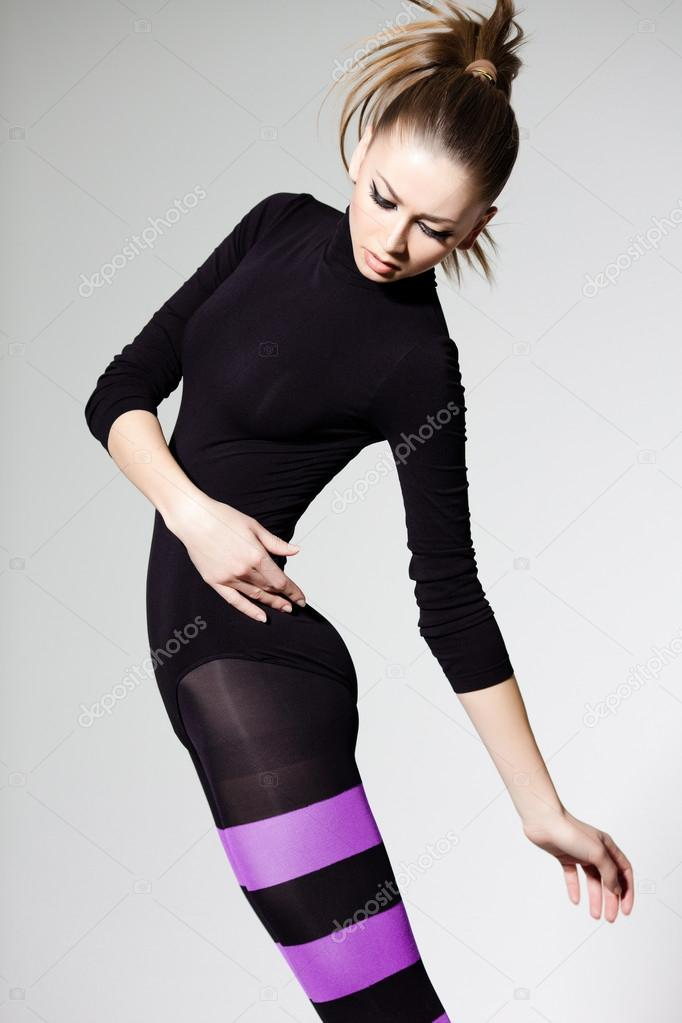 sexy Frau Strumpfhosen
