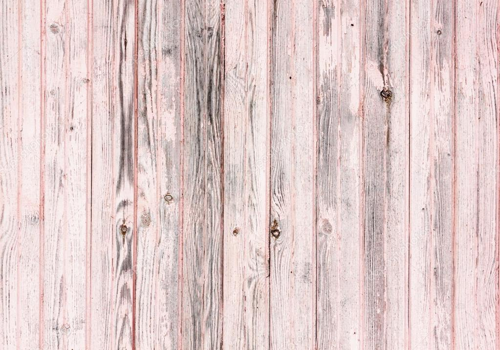 Old wooden painted pink rustic background, paint peeling ... Pink Wood Background Pattern