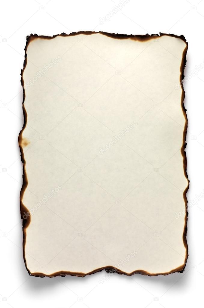 Рамки на фото как обгорелая бумага