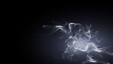 White smoke, fume, reek