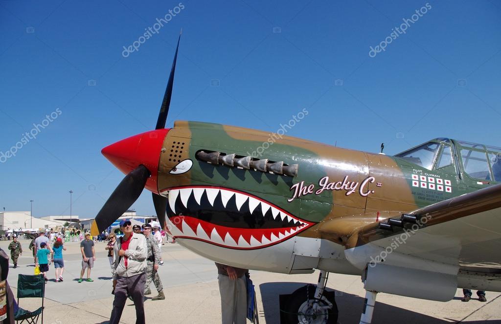 P-40 Warhawk • WW2 Warbird • Air Park Tours USA