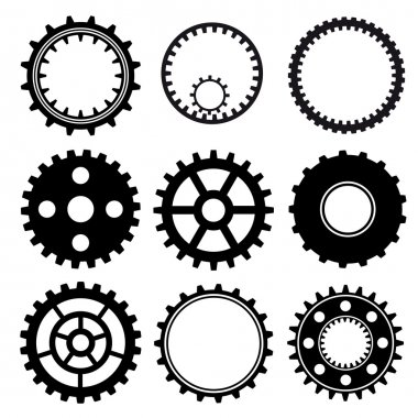 Set of gear wheels