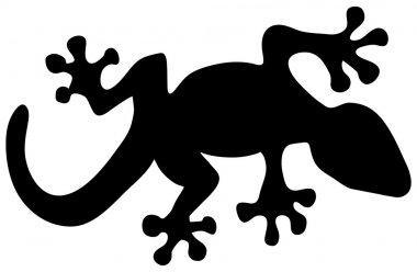 lizard silhouette