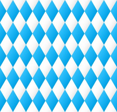 seamless diamond pattern in blue and white