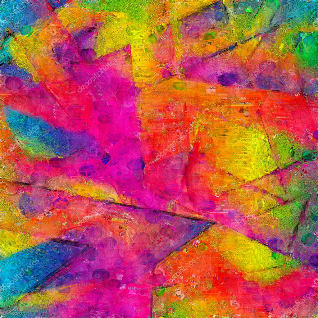 Artistic abstract painting texture background