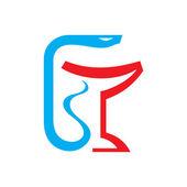 Fotografie Medical Snake - Logo Sign 1