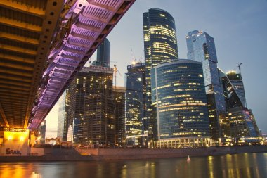 New skyscrapers of Moscow