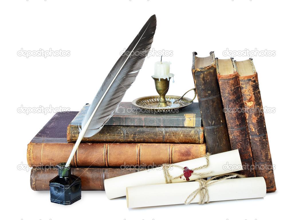 Imágenes Libros Antiguos Libros Antiguos Foto De Stock