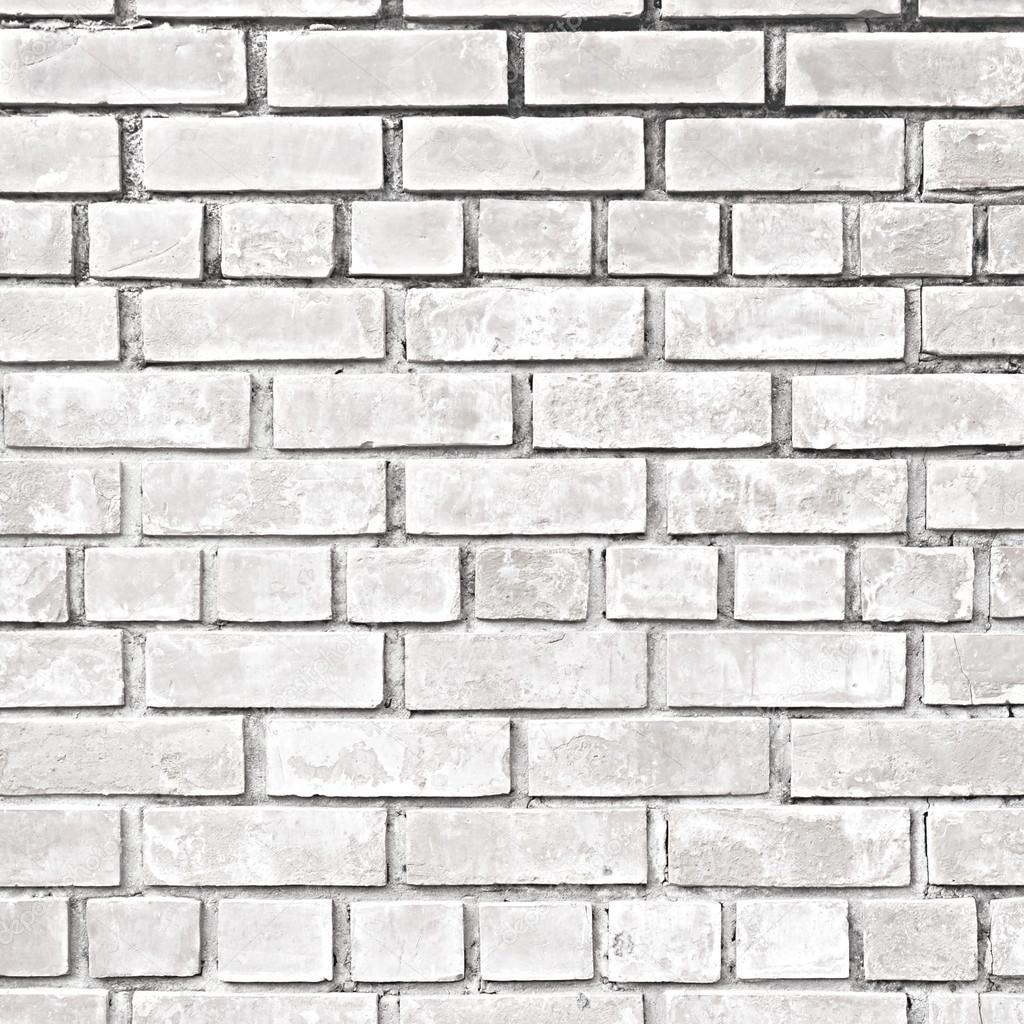 Textura de la pared de ladrillo gris blanco fotos de - Pared ladrillo blanco ...
