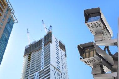 CCTV or surveillance cameras in the city