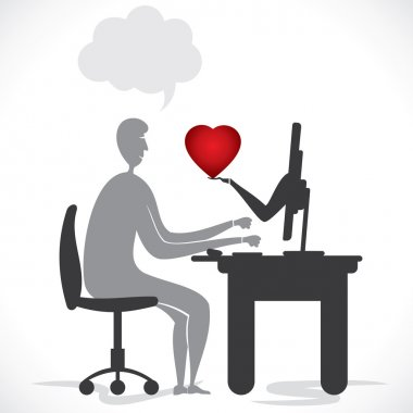 online proposal or giving heart card