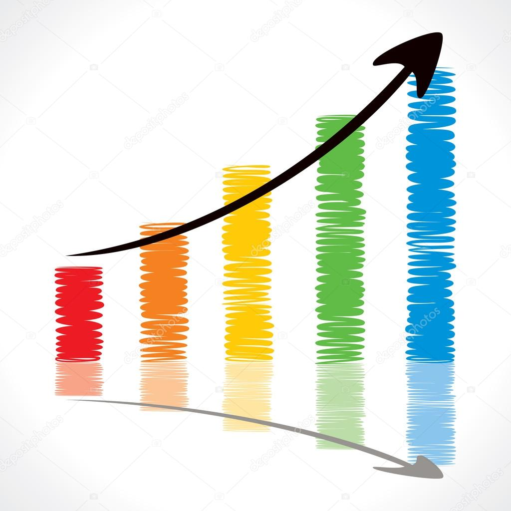 Draw growth chart stock vector designwork07 24301181 colorful pillar draw market graph stock vector vector by designwork07 nvjuhfo Gallery