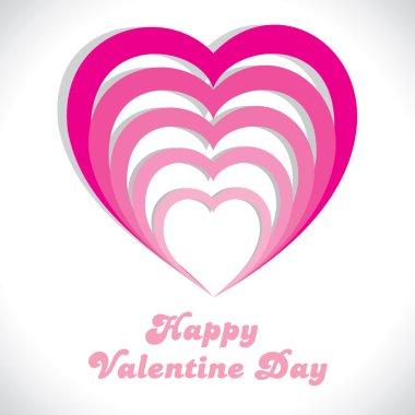 Pink strip heart