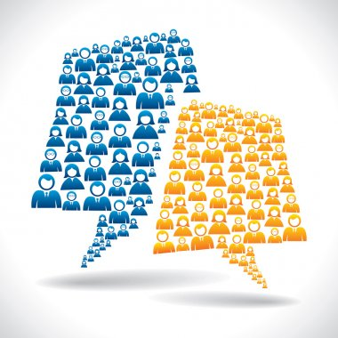 business communication concept