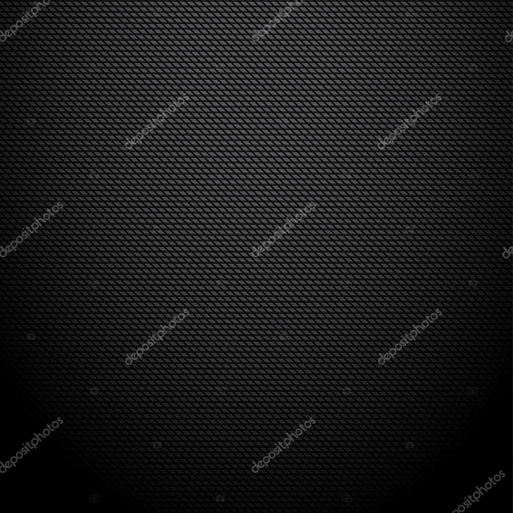Realistic dark carbon background, texture.