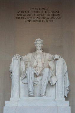 lincoln memorial statue, Washington, DC