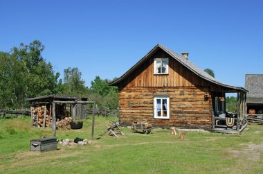 Traditional Canadian rural house
