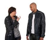Érett nő megpróbálja elcsábítani egy fiatal srác