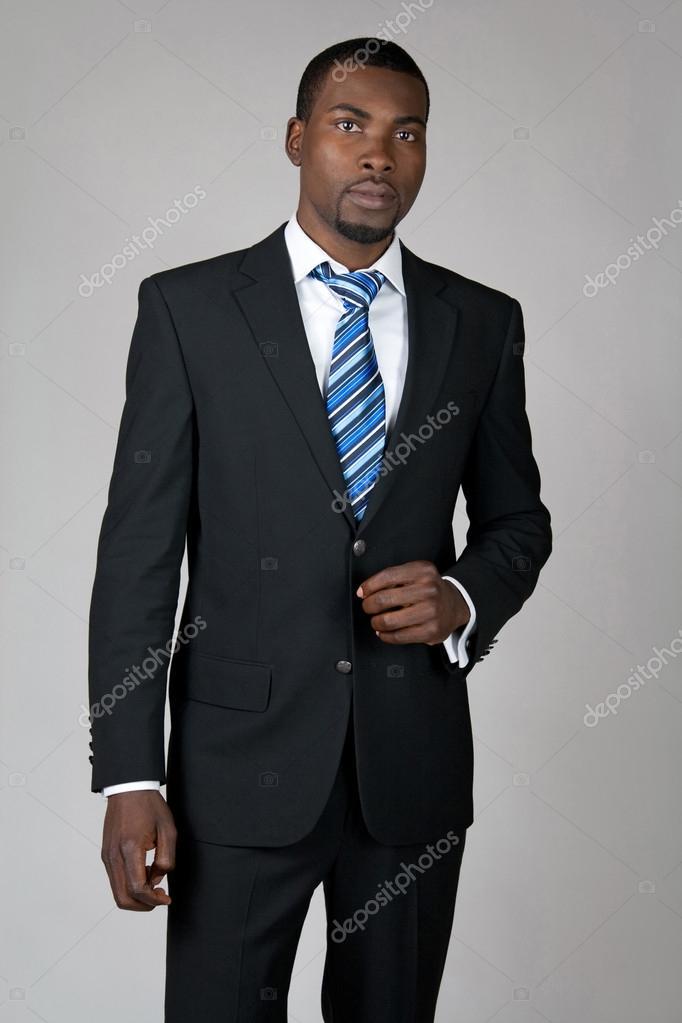 Gentleman wearing suit and tie