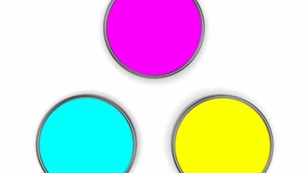 Míchání barev (Cmyk)