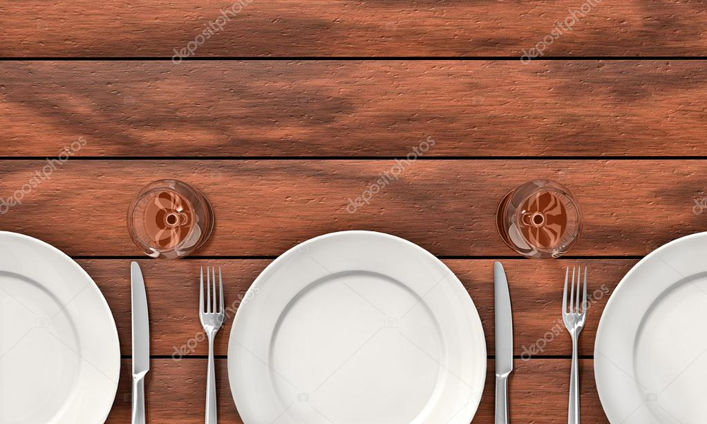 Dinner Table Background dining table background — stock photo © dynamicfoto #38740061