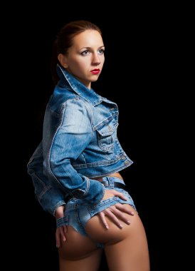 girl in jeans