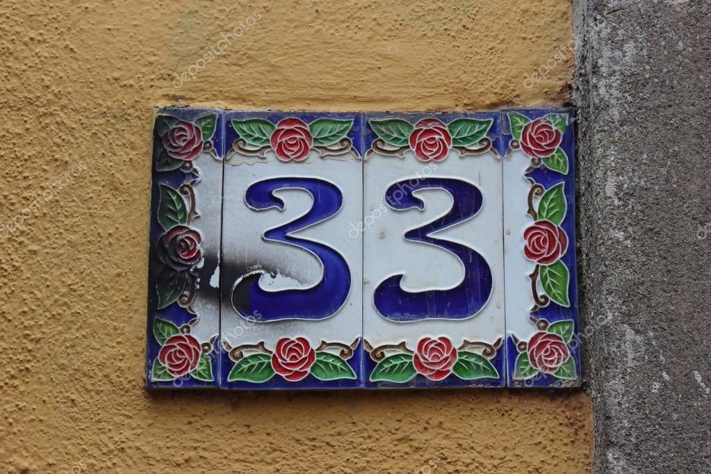 Numero civico u foto stock franzgustincich