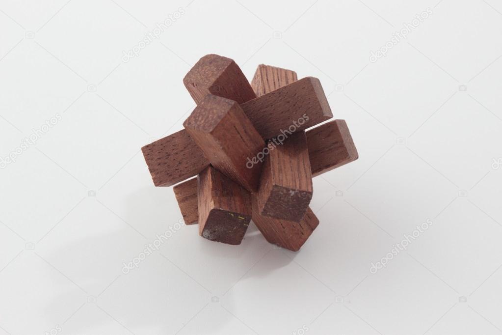 Casse-tête en bois — Photographie FranzGustincich © #25514271