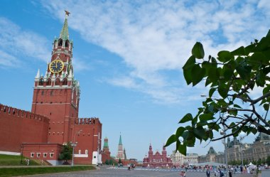 The main Tower of Moscow Kremlin